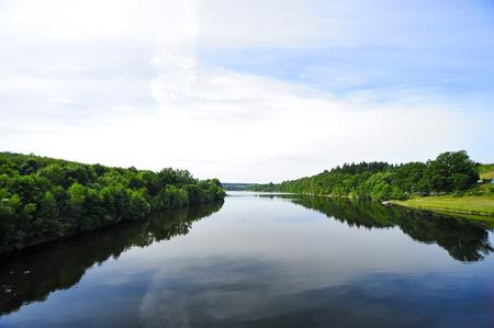 Germany,Saxony,Dippoldiswalde,Malter Dam