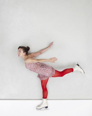 Figure skating woman LANG_EVOIMAGES