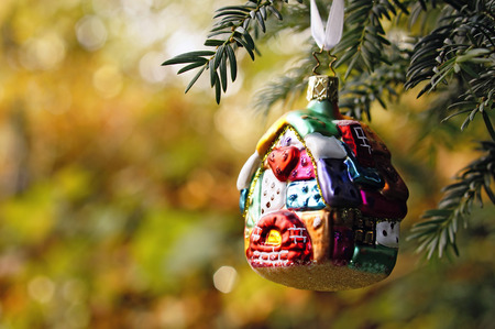 Germany,Minden,christmas bauble,gingerbread house