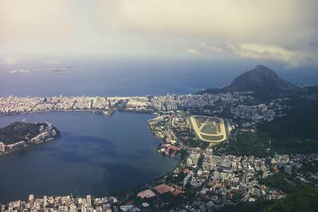 Brazil,Rio de Janeiro,Corcovado,View of the city