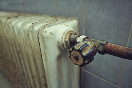 Germany,Bavaria,old heater LANG_EVOIMAGES