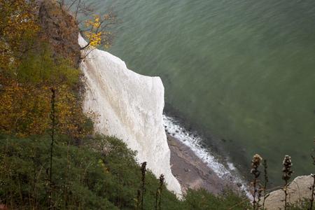Germany,Mecklenburg-Western Pomerania,Ruegen,Jasmund National Park,Wissower Klinken,chalk cliff