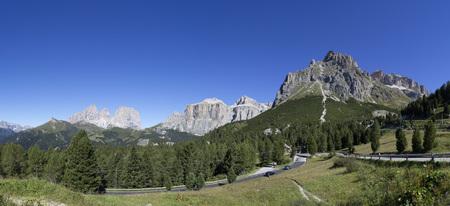 Italy,South Tyrol,Pordoi Pass