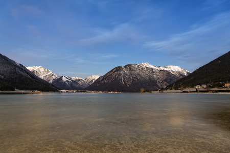 Austria,Tyrol,Eng,Achensee,view to Pertisau LANG_EVOIMAGES