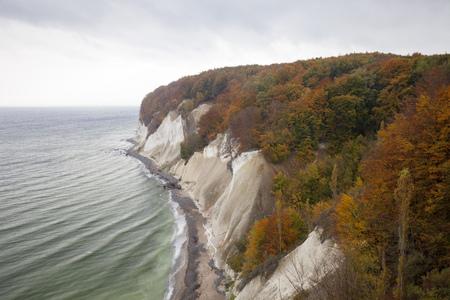 Germany,Mecklenburg-Western Pomerania,Ruegen,Jasmund National Park,chalk cliff LANG_EVOIMAGES