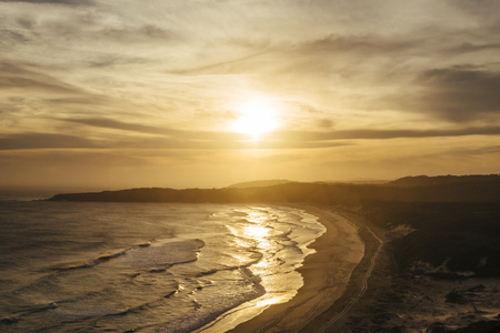 Australia, Seal Rocks, coast at sunset LANG_EVOIMAGES