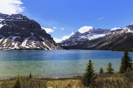 Canada, Alberta, Banff National Park, Bow Lake