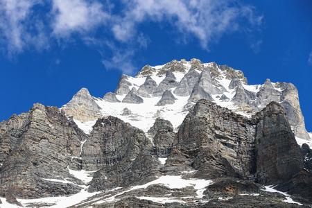 Canada, British Columbia, Yoho Nationalpark, Mount Huber LANG_EVOIMAGES