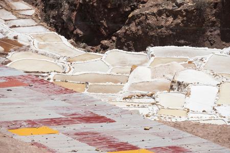 Peru, Maras, Salt terraces