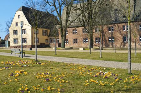 Germany, Hesse, Frankenberg, St. Georgenberg Abbey