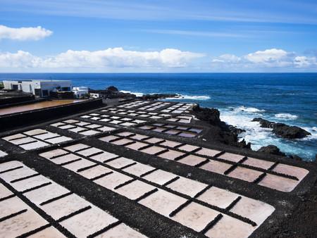 Spain, Canary Islands, La Palma, Southern Coast, Punta de Fuencaliente, Saline Teneguia LANG_EVOIMAGES