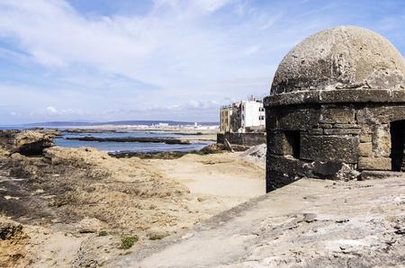 Morocco, Essaouira, Bani Antar, view to the coast LANG_EVOIMAGES