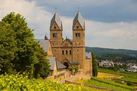 Germany, Hesse, Ruedesheim, Abbey Of St Hildegard In Eibingen LANG_EVOIMAGES