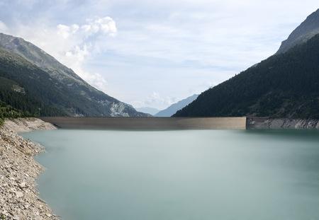 Austria, Tirol, Zillertal, Schlegeis-Reservoir LANG_EVOIMAGES