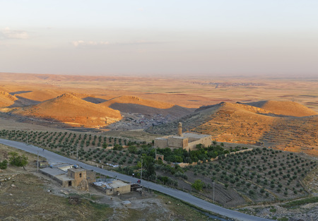 Turkey, Mardin, Mesopotamian Plain And St MichaelS Church