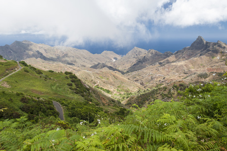 Spain, Canary Islands, Tenerife, Anaga Mountains On The Northeast Coast LANG_EVOIMAGES