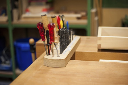 Tools In A Carpentry