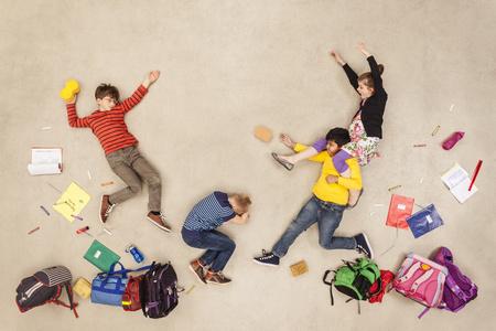 School Kids Fight Each Other
