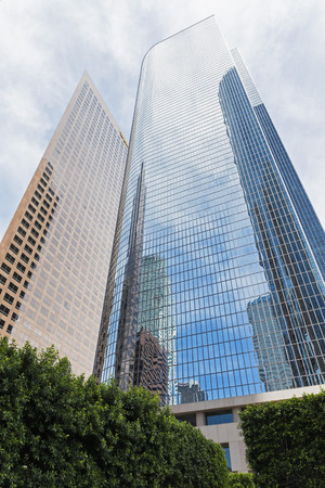 Usa, California, Los Angeles, W. R. Grace Building, Two California Plaza And Wells Fargo Center LANG_EVOIMAGES