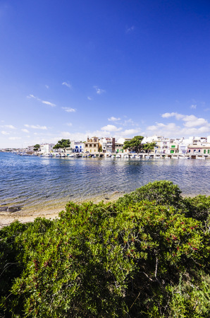 Spain, Mallorca, Porto Colom, View Of Harbour