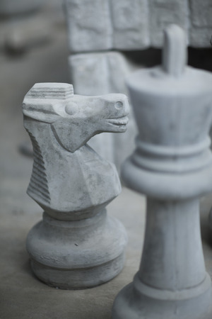 South Africa, Chess pieces in in pot factory