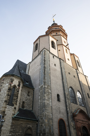 Germany, Saxony, Leipzig, St. Nicholas church LANG_EVOIMAGES