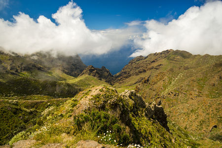 Spain, Canary Islands, Tenerife, Teno Mountains