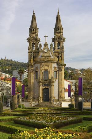 Portugal, Braga District, Guimaraes, church Igreja dos Santos-Passos