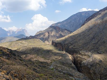 Oman, Jebel Akhdar, Al Batinah, Wadi Bani Awf LANG_EVOIMAGES