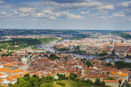 Czechia, Prague, cityscape