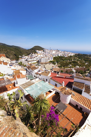 Spain, Andalusia, Frigiliana, town on the Costa del Sol LANG_EVOIMAGES