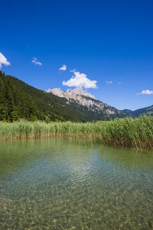 Austria, Tyrol, Tannheim Valley, Lake Haldensee LANG_EVOIMAGES