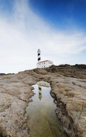 Spain, Menorca, Favaritx lighthouse