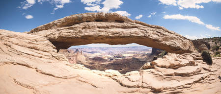 USA, Utah, Canyonlands National Park, Rock arch