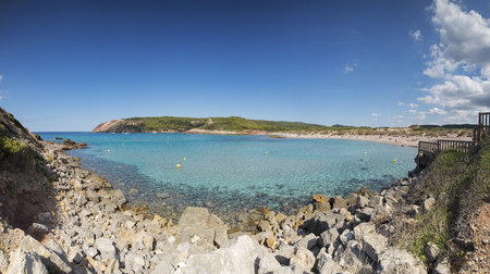 Spian, Menorca, Algaiarens beach