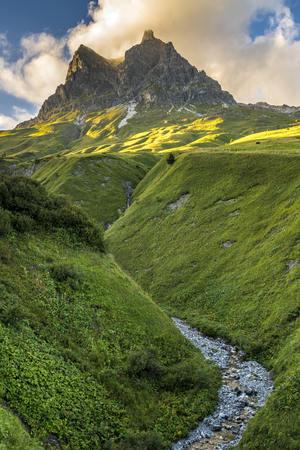 Austria, Vorarlberg, Widderstein