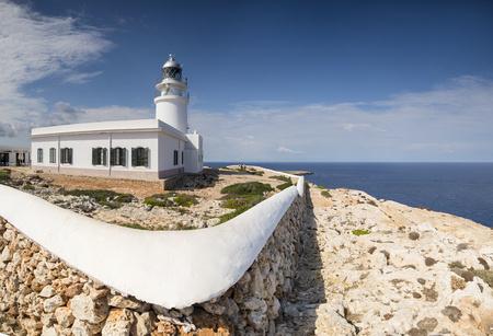 Soain, Menorca, light house at Cap de Cavalleria