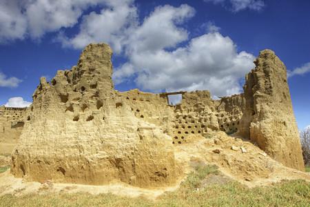 Spain, Torremormojon, castillo