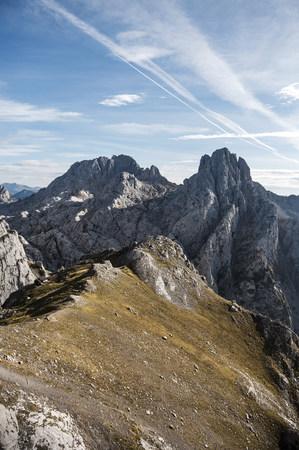 Spain, Picos de Europa, mountainscape