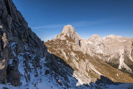Italy, South Tyrol, Rosengarten, Tschagerjoch LANG_EVOIMAGES