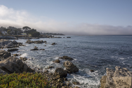 USA, Califronia, view to the sea from Pacific Coast Highway LANG_EVOIMAGES