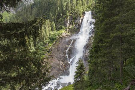 Austria, High Tauern National Park, Krimml waterfalls LANG_EVOIMAGES