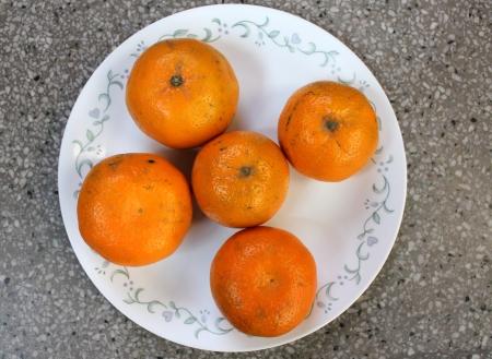 Kinnow, Citrus reticulata Stock Photo - 24392324