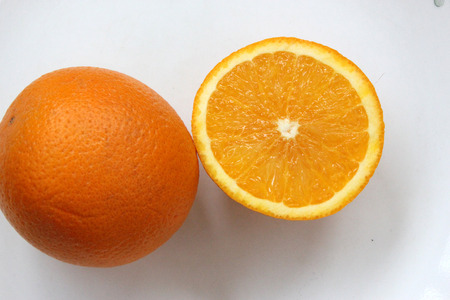 citrus     sinensis: Malta Citrus sinensis a popular fruit grown in Foothills of NW Himalayas with globose orange fruit with orangeyellow pulp sweet and delicious Stock Photo