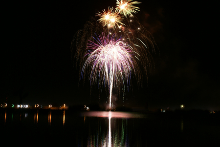 sponsorship: Lake Siskiyou Fireworks, held every year on night of 4th of July, Independence day of USA, by Mt Shasta community through sponsorship and individual donations, the spectacular display of fireworks held for more than last 40 years