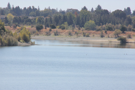 Quarry Lake, Fremont, California recreational area with facilities