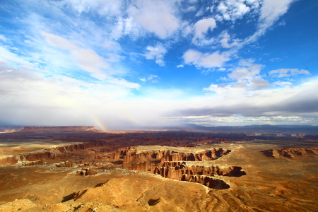Grand View Point, Canyon Lands, Utah, US 写真素材
