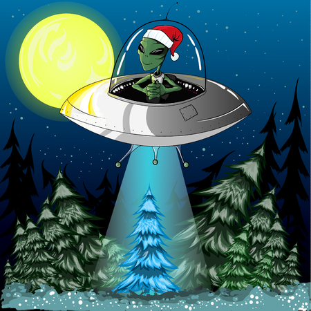 kidnapping: New alien kidnaps tree in the forest