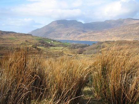 connemara: Connemara Mountains Stock Photo