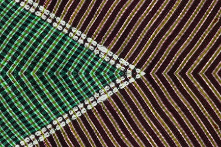 pattern and line of the fabric and background  photo